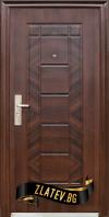 Блиндирана входна врата модел 018 7