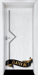 Интериорна врата Gama 201, цвят Бреза
