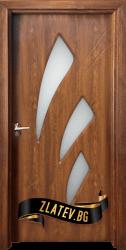 Интериорна врата Gama 202, цвят Златен дъб