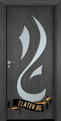 Интериорна врата Gama 203, цвят Сив кестен