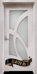 Интериорна врата Gama 208, цвят Перла