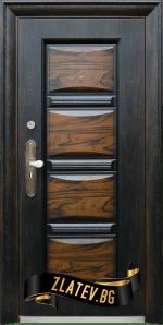 Блиндирана входна врата модел 516