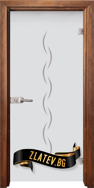Стъклена интериорна врата Gravur G 13 1 Z