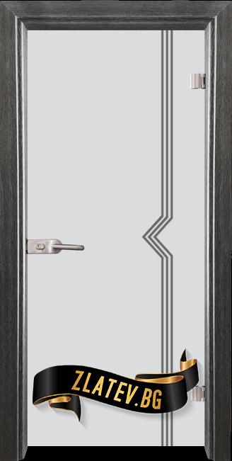 Стъклена интериорна врата Gravur G 13 3 G