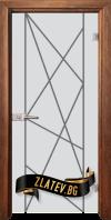Стъклена интериорна врата Gravur G 13 5 Z