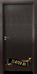 Интериорна врата Gama 201 p, цвят Венге