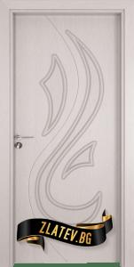 Интериорна врата Gama 203 p, цвят Перла