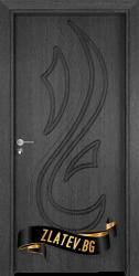 Интериорна врата Gama 203 p, цвят Сив кестен