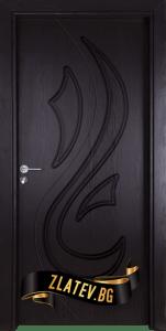 Интериорна врата Gama 201, цвят Златен дъб