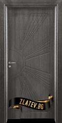 Интериорна врата Gama 204 p, цвят Сив кестен