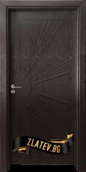 Интериорна врата Gama 204 p, цвят Венге