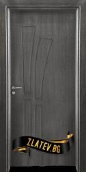 Интериорна врата Gama 205 p, цвят Сив кестен