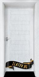 Интериорна врата Gama 207 p, цвят Бреза