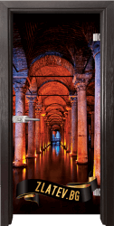 Стъклена интериорна врата Print G 13 13 Turkey X