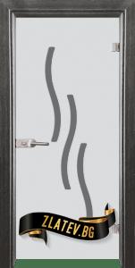 Стъклена интериорна врата Sand G 14 2 G