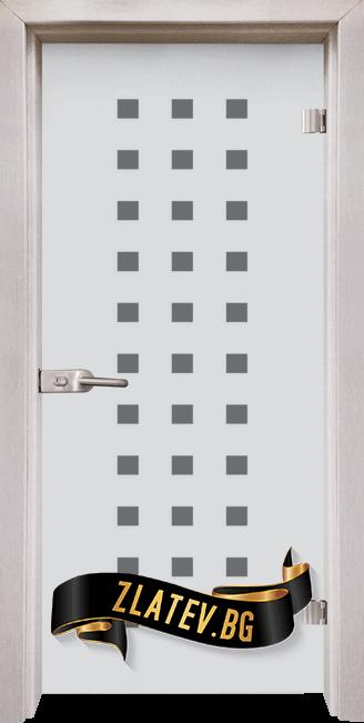 Стъклена интериорна врата Sand G 14 4 D
