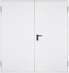 Метална пожароустойчива врата, REI 120 – двукрила