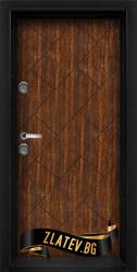 Блиндирана входна врата модел T-904
