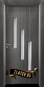 Интериорна врата Gama 206, цвят Сив кестен, от Врати Златев
