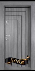 Интериорна врата Gama 208, цвят Бреза