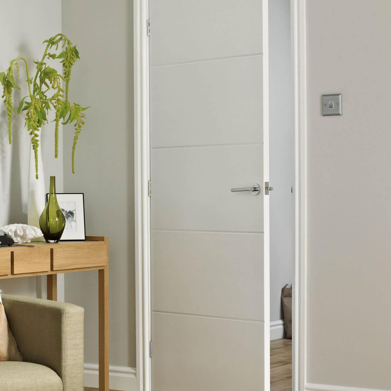 Защо белите интериорни врати не излизат от мода