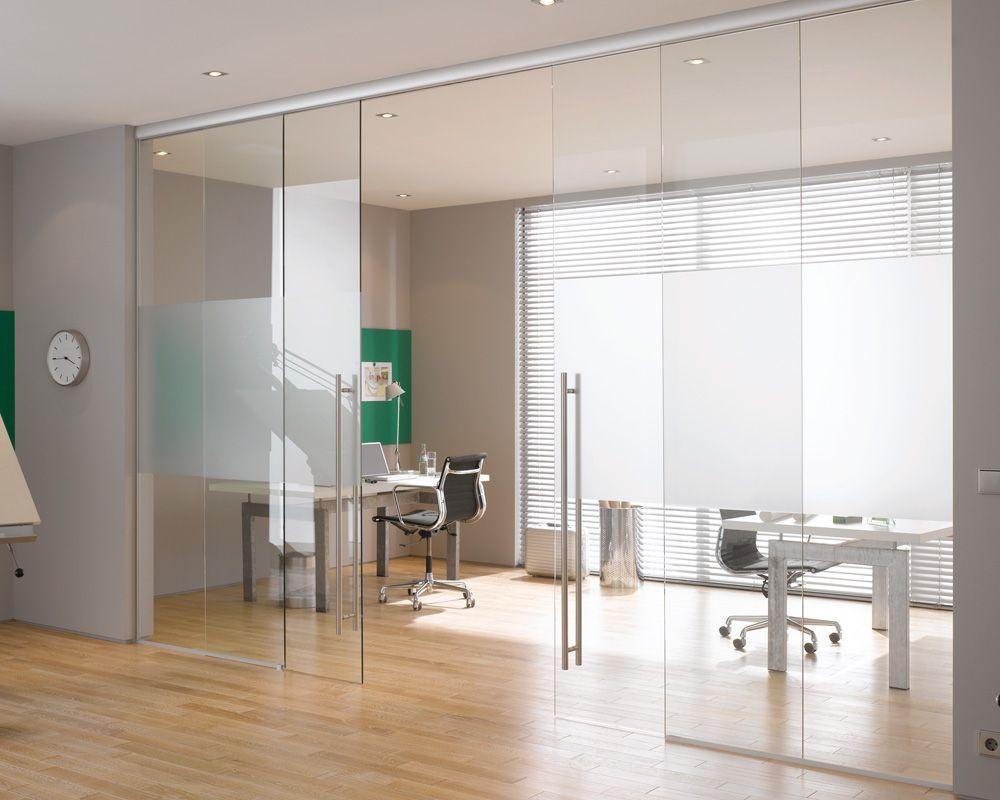 Идеи за стъклена врата у дома или в офиса
