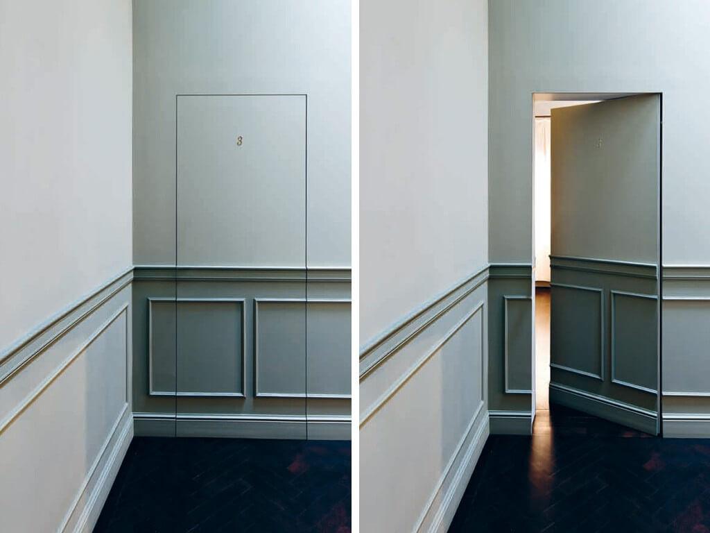 Цветни врати в интериора ви