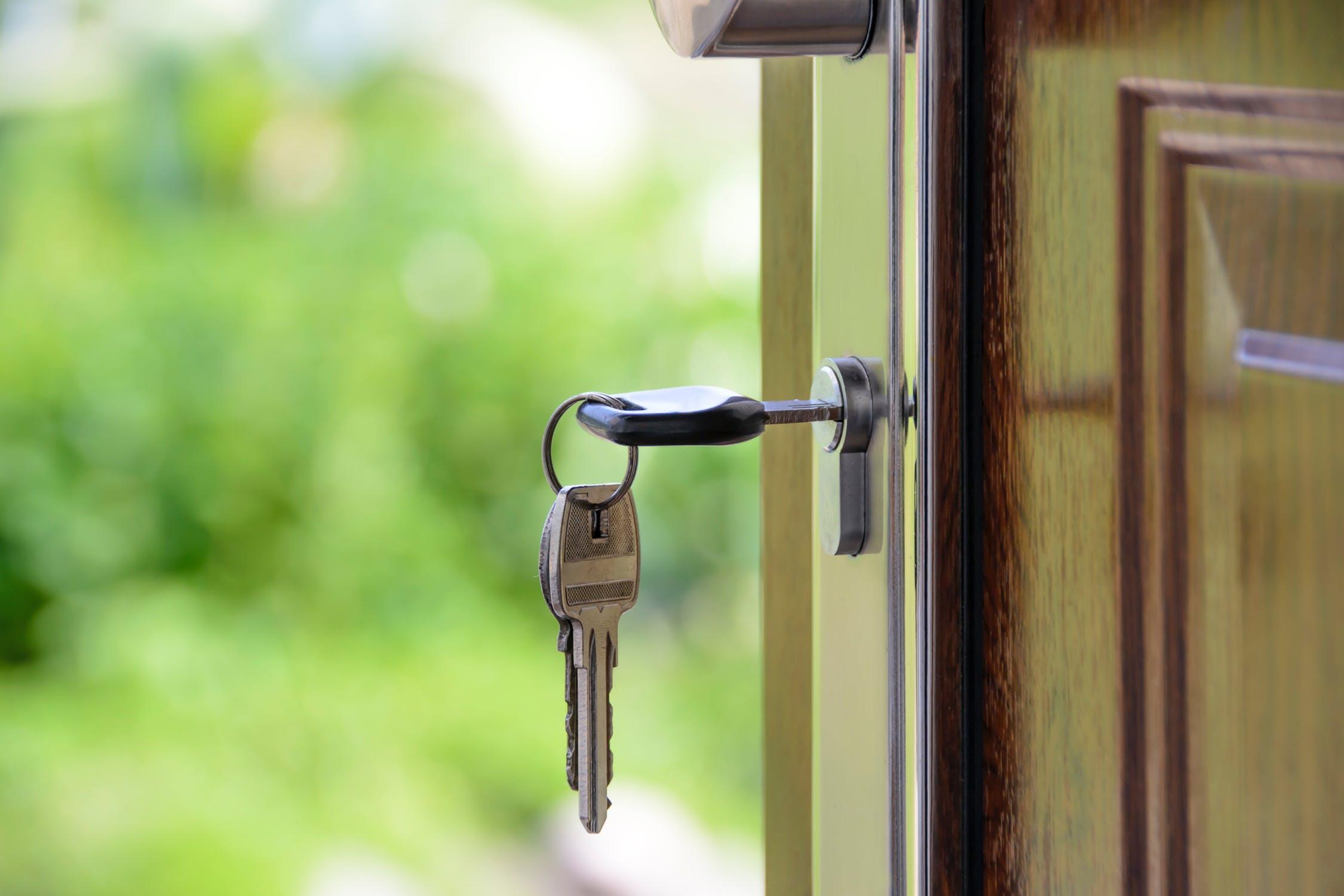 Ключ на входна врата