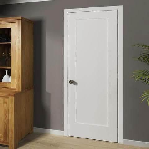 Бяла Интериоран Врата