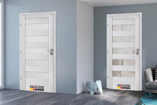Комбинации на интериорни врати от серия Gradde